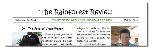 Rainforest Review vol 1 no 3