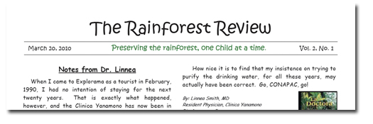 Rainforest Review Vol 2 No 1